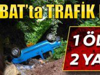 Akçaabat'ta Otomobil Uçuruma Yuvarlandı! 1 Ölü
