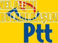 PTT İçin Personel Alımı Başvuruları Başladı