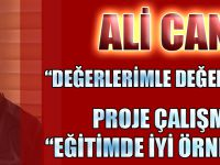Ali Can'ın Projesi Eğitimde İyi Örnek Seçildi