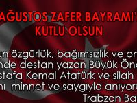 Trabzon Barosu'ndan 30 Ağustos Zafer Bayramı Basın Açıklaması