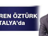 Akçaabatlı Ali Türen Öztürk Antalya'da!
