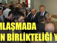 Bayramlaşma İzdihamı Büyükşehir Belediyesinde Trabzon Birlikteliği Yaşandı