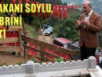İçişleri Bakanı Soylu, Eren'in Kabrini Ziyaret Etti