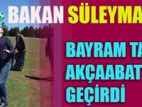 Bakan Süleyman Soylu Yaylada Top Sektirdi, Stres Attı