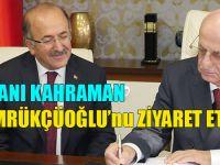 TBMM Başkanı Kahraman, Başkan Gümrükçüoğlu'nu Ziyaret Etti