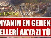 """Osman Bektaş Yazdı """"Dünyanın En Gereksiz Tünelleri Akyazı Tünelleri"""""""