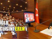 Gümrükçüoğlu, Belediye Meclisini Eren'i Anarak Açtı