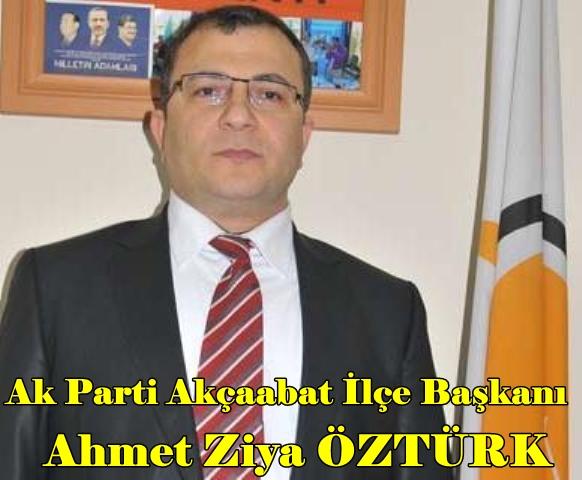 AkParti Akçaabat İlçe Başkanı Ahmet Ziya ÖZTÜRK (2)