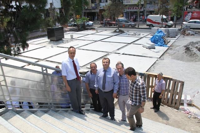 atatürk parkı inşaatı